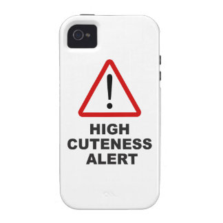 Caution high cuteness alert vibe iPhone 4 cover