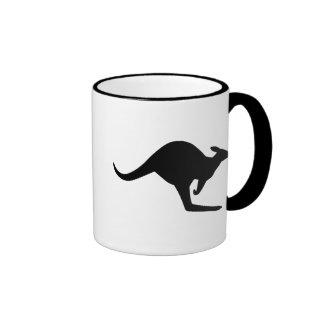 Caution Kangaroo Coffee Mug