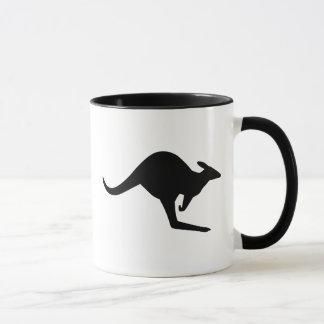 Caution Kangaroo Mug
