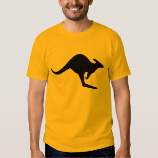 Caution Kangaroo Tee Shirts
