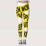 "Caution Keep Out Tape Leggings<br><div class=""desc"">Caution Keep Out Tape</div>"