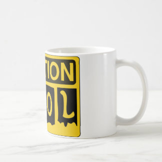 CAUTION KFOL by Customise My Minifig Coffee Mug