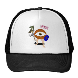 Caution: Live Yarn! Hunter Trucker Hat