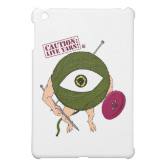 Caution: Live Yarn! Infantry iPad Mini Case