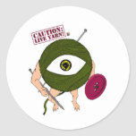 Caution: Live Yarn! Infantry Stickers