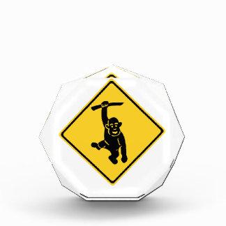 Caution Monkeys, Traffic Sign, Taiwan Acrylic Award