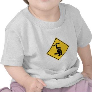 Caution Monkeys, Traffic Sign, Taiwan Shirt
