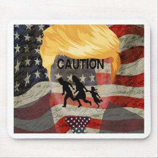 Caution Mouse Pad