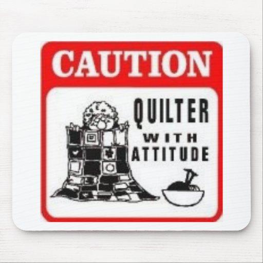 Caution Mouse Pads