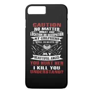 CAUTION MY GIRLFRIEND iPhone 8 PLUS/7 PLUS CASE