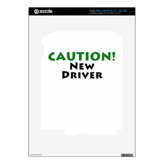 Caution New Driver Skin For iPad 3