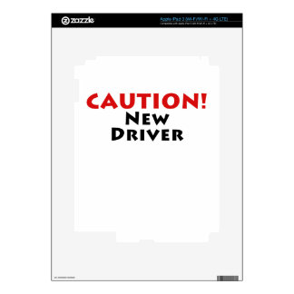 Caution New Driver Skins For iPad 3