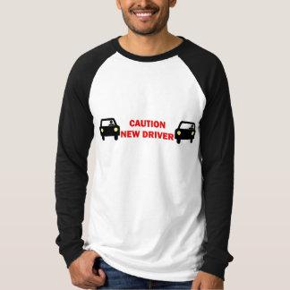 Caution New Driver Tee Shirt
