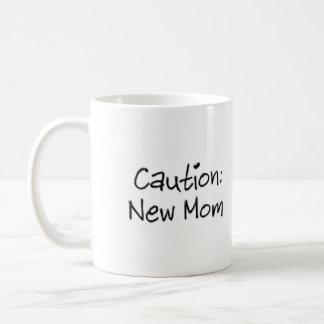 Caution New Mom Mug
