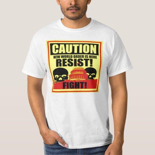 Caution New World Older T-Shirt