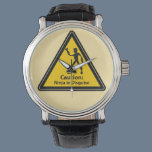 Caution: Ninja in Disguise (Silhouette) Wrist Watch