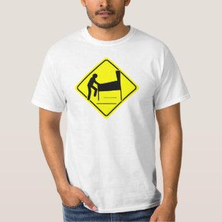 CAUTION - Pinball Wizard Player XING funny arcade T-Shirt