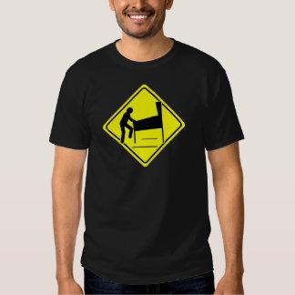 CAUTION - Pinball Wizard Player XING funny arcade T-shirts