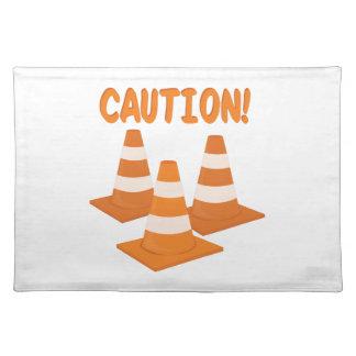 Caution Cloth Placemat