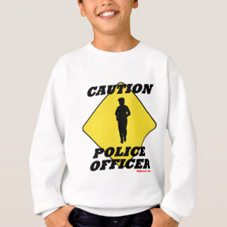 Caution_Police_Officer2.gif Sweatshirt