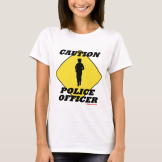 Caution_Police_Officer2.gif T-Shirt