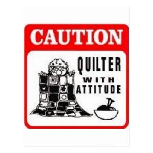 Caution Postcards