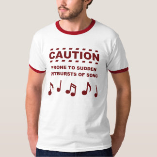 Caution Prone to Sudden Outbursts of Song Dresses