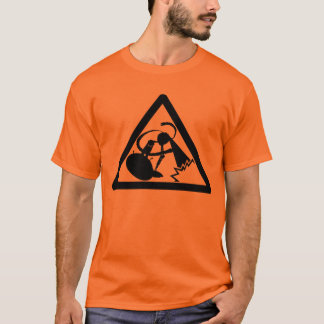 CAUTION!!! (robots at work) T-Shirt