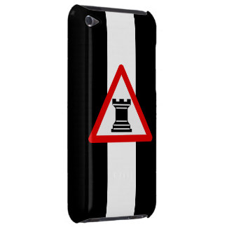 Caution: Rook Chess Piece Sign iPod Touch Case