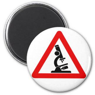 Caution:  SCIENCE! Fridge Magnet