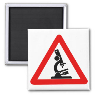 Caution:  SCIENCE! Refrigerator Magnets