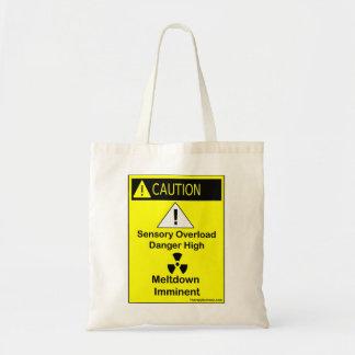 Caution: Sensory oveload  bag