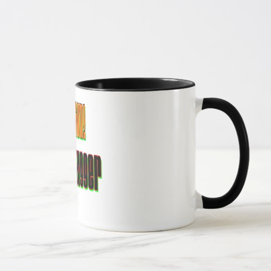 Caution Serial Hugger Mug