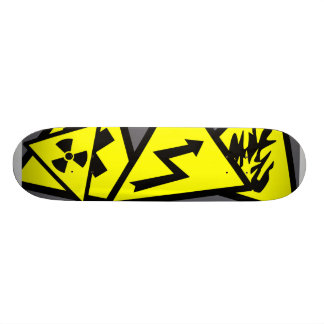 Caution Signs Skateboard