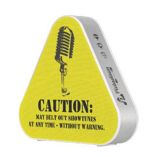 Caution Speaker