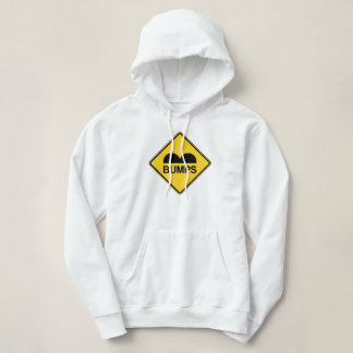 Caution Speed Bumps Funny Traffic Sign Hoodie