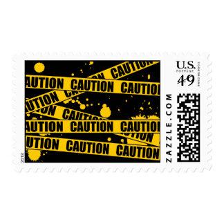 Caution! Stamp