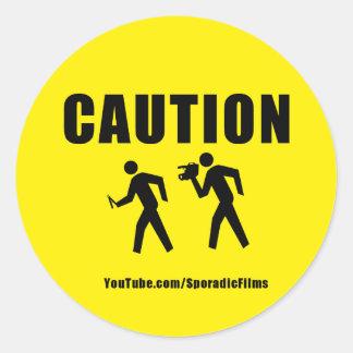 CAUTION Sticker 2