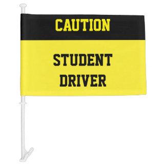 Caution Student Driver Flag Car Flag