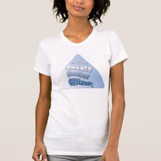 """Caution Sweaty Senior Citizen"" T-Shirt"