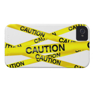 Caution Tape Blackberry Bold Case