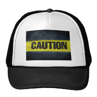 Caution Tape Hat