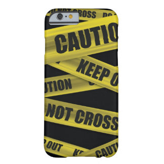Caution Tape iPhone 6 case