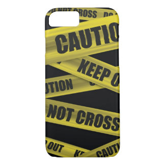 Caution Tape iPhone 7 case
