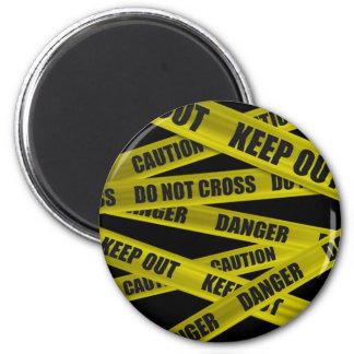 Caution Tape Magnet