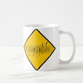 Caution: Testosterone Coffee Mug