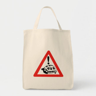 Caution Turtles, Traffic Sign, South Africa Tote Bag