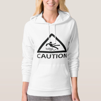 Caution Worms May Chase You Hoodie