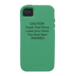 Caution, You Have Been WARNED iPhone 4 Cases
