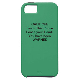 Caution, You Have Been WARNED iPhone 5 Covers